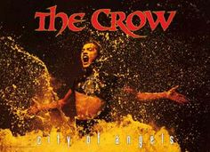 A great poster from The Crow: City of Angels - the 1996 sequel to the popular movie based on James O Barr's character Eric Draven! Published in Fully licensed. Need Pos Crow Movie, I Movie, Brandon Lee, Bruce Lee, The Crow, When Someone Dies, City Of Angels, About Time Movie