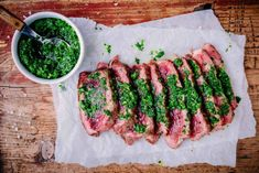 5 Latin American Salsas That Will Punch Up Your Parrillada Prime Rib Steak, Smoked Tri Tip, Steak With Chimichurri Sauce, A Food, Food And Drink, Ripe Plantain, Grilled Meat, Grilled Steaks, Beef
