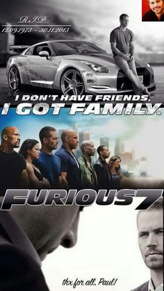 I don't have friends, I got Family
