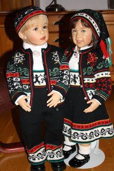 Sissel B Skille, Norwegian dolls