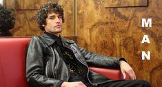 sample-2 Leather Jacket, Jackets, Fashion, Studded Leather Jacket, Down Jackets, Moda, Leather Jackets, Fashion Styles, Fashion Illustrations