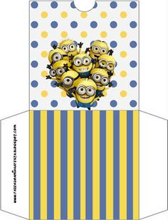 Minions: Party Free Printables.
