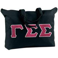 Gamma Sigma Sigma Shoulder Bag - Bag Edge BE009 - TWILL