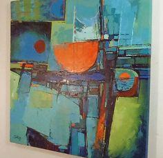 Abstract Paintings by Artist Boski Sztuka