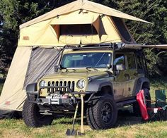 Rooftop Camping Tent - http://tiwib.co/rooftop-camping-tent/ #Camping+Outdoors