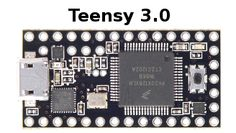 Teensy 3 USB Development Board. Aka, the best arduino compatible avr, and only $19!