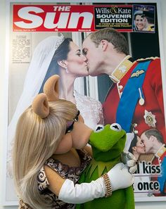 The PR team for the Muppetts movie have launched an assault on the UK media in recent week like no other film I've ever seen.  From primetime Radio1 to Miss Piggy on the cover of the notoriously snooty Sunday Times Style Magazine, us mere mortals PR are left asking, is there anyone who doesn't love these puppets?