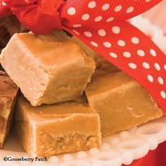 Gooseberry Patch Recipes: Peanut Butter Fudge from From Grandma's Kitchen