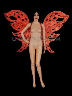 CHARISMATICO Bright Red Glitter Butterfly Wing Backpack  #charismatico #dragqueenoutfits  #dragoutfits #dragqueencostume #dragcostume Drag Queen Costumes, Drag Queen Outfits, Girl Costumes, Tax Payment, Red Glitter, Butterfly Wings, Beautiful Butterflies, Dance Wear, Bright