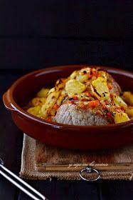y sigo en la cocina: Cinta de Lomo asado con manzanas