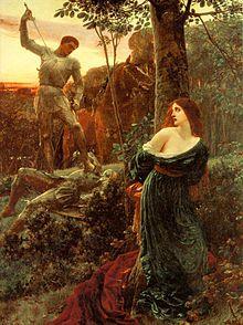 Damsel in distress - Wikipedia, the free encyclopedia