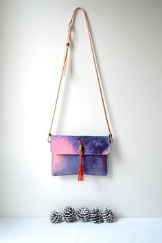 Valentines Day Gift For Her Hand Painted Canvas Crossbody