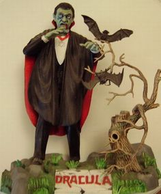 Aurora's monster model of 'Dracula' - Museum of Modern Mythology and Pop Culture