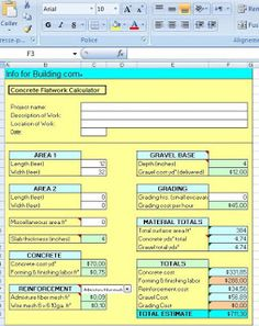 Agriculture Cost Estimate Excel Sheet  Cost Estimate  Civil