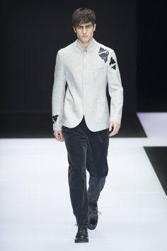 Male Fashion Trends: Emporio Armani Fall/Winter 2016/17 - Milán Fashion Week