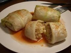 hCG Diet Recipes - hCG Diet Cabbage Rolls