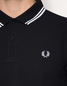 Fred Perry- creator of some very classy, yet expinsive shirts