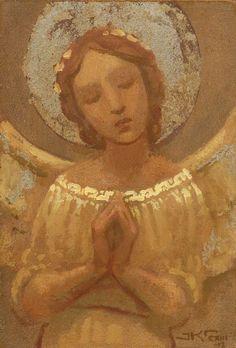 Title: Angel In Prayer. [Artist: J. Seraph Angel, Angel Artwork, Angel Paintings, Angel Images, Angel Aesthetic, Angels Among Us, Angel Cards, Guardian Angels, Sacred Art