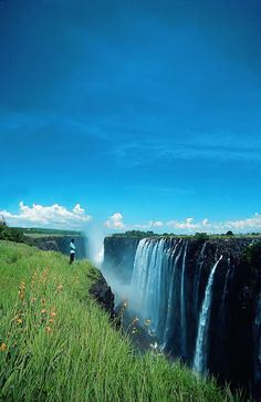Victoria Falls, between Zambia and Zimbabwe