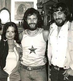 Jessi Colter, Ken Mansfield and Waylon Jennings