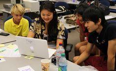 Punahou School: Flat Classroom Live! Comes to Hawai'i