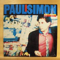 PAUL SIMON - Hearts and Bones - Vinyl LP - The late great Johnny Ace - Allergies