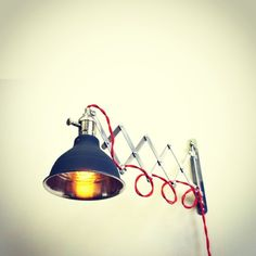 Luminária sanfonada