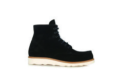 GQ.com: Mr. Hare Hannibal Suede Boots:Suede is a nice alternative to all the leather you see in the boot world, and it certainly breaks in a little easier. We don't mind the high contrast white sole either, though it may take a little maintenance.$657, available at matchesfashion.com.