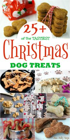 Homemade Christmas dog treats : 25 of the TASTIEST Christmas Dog Treats for all Good Pups Miss Molly Says Puppy Treats, Diy Dog Treats, Healthy Dog Treats, Homeade Dog Treats, Diy Dog Gifts, Homemade Dog Cookies, Peanut Butter Dog Treats, Puppy Food, Dog Biscuit Recipes