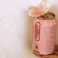 coca cola should seriously think about doing a pink can. Coca Cola Vintage, Coca Cola Can, Pink Love, Pretty In Pink, My Love, Fun Loving, Girly Girl, Girlie Girlie, My Favorite Color
