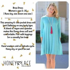 Love the pockets on the honey and lace brea