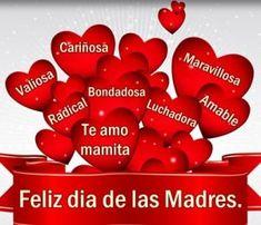 Felicidades to all latina moms! Happy Mother Day Quotes, Mother Day Wishes, Mother Quotes, Spanish Mothers Day, Happy Birthday Celebration, Happy Mother's Day Card, I Love Mom, Mom Day, Holiday Parties