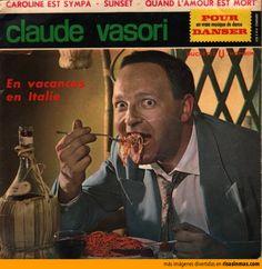Las mejores portadas de discos: En vacances in Italie de Claude Vasori.