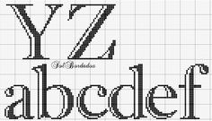 Cross Stitching, Cross Stitch Embroidery, Cross Stitch Alphabet Patterns, Xmas Stockings, Alphabet And Numbers, Sewing, C2c, Plastic Canvas, Monograms