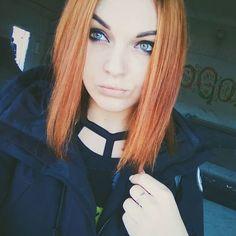 #ginger beauty from #Russia  regram @tanushaya  #redhead #redhair #paleskin #WhiteGirl #GingerBeauty #EuropeanGirl #EuropeanBeauty #blueeyes #greeneyes #FB