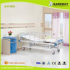 3 function linak electric hospital bed parts linen for paralyzed patients Bed Parts, Hospital Bed, Commercial Furniture, Toy Chest, Storage Chest, Toddler Bed, Electric, Metal, Table
