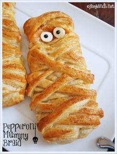Pepperoni Mummy Braid