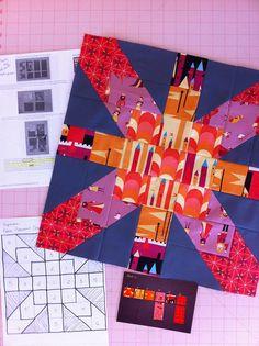 Supernova Block and tutorial for HettieK by Watch Meesh Run, via Flickr
