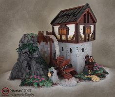Morias' Mill by Legonardo on Flickr