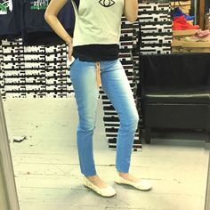 Designer sky blue white faded wash skinny jeans OPEN TO OFFERS! these designer DITTOS jeans are one of the most beautiful colors I have ever seen! They are a gorgeous sky blue color with faded sections in the front and back that almost look like clouds! Flattering skinny jean fit. Very comfortable and perfect for every day or special occasions! Sold by ASOS. ‼️NO TRADES‼️ ASOS Jeans Skinny