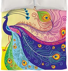 Peacock Bedding is Gorgeous and Popular | WebNuggetz.com