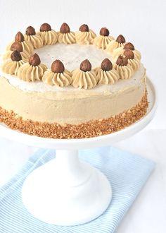 Hazelnoot-schuimtaart - Laura's Bakery