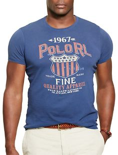 Polo Ralph Lauren® RL Flag Graphic T-Shirt