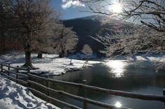 Twitter / turismoER: Lago Calamone (ReggioEmilia) in una bellissima giornata invernale!