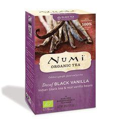 Numi Decaf Black Vanilla