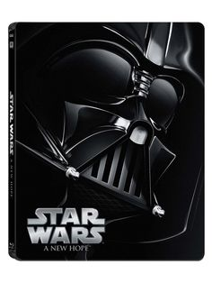 The STAR WARS Saga Gets The Blu-ray Steelbook Treatment This November--Episide IV: A New Hope.