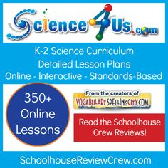 Are you looking for ways to teach science to your younger students? Take a peek at @Science4Us, a new program from the folks at @VocabularySpellingCity!   The reviews have started coming in!  #hsreviews #reviewcrew #homeschool