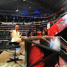 WrestleMania 32 Kickoff Panel.