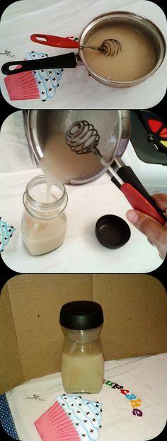 Cola Branca Caseira - Veja receita no meu Blog:  https://shillaartesanatos.blogspot.com.br/