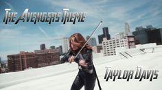 The Avengers Theme - Taylor Davis (Violin) -- She makes a great Black Widow. :)